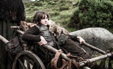 Game of thrones, TV show, Isaac Hempstead Wright, Bran Stark