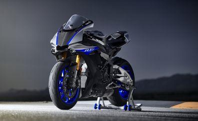 2018 Yamaha YZF-R1M, bike, 4k