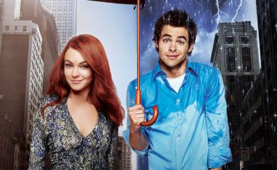 Lindsay Lohan, Chris Pine in Just My Luck, 2006 movie
