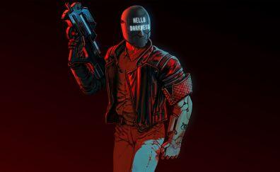 Ruiner, video game, 2017 game, 4k