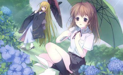 Sendo erika and yuki haruna of fortune arterial anime
