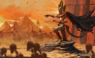 Ghost army, mummy, Total War: Warhammer II