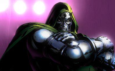 Doctor doom, villain, marvel comics