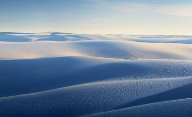 Desert, dunes, nature