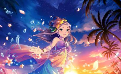 Beautiful Kumiko Matsuyama, anime girl