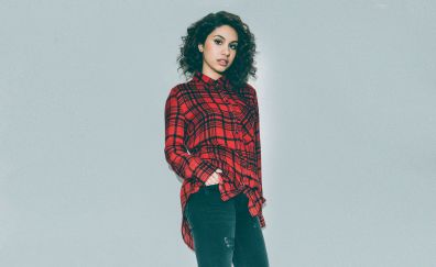 Alessia Cara, curly hair, celebrity