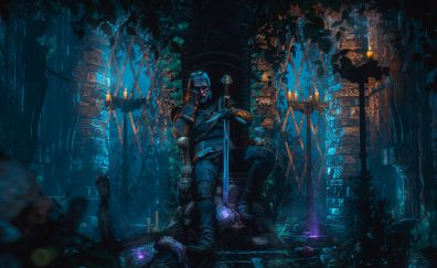 The Witcher 3: Wild Hunt video game, gaming, warrior
