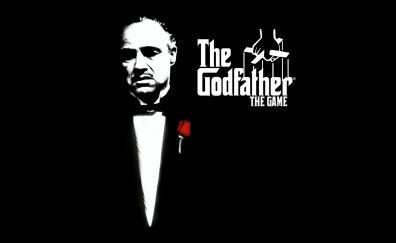 The Godfather movie, Marlon Brando monochrome
