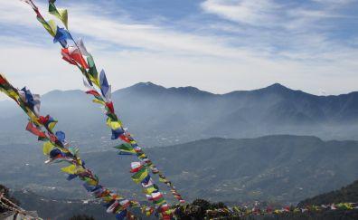Kathmandu mountains, Nepal