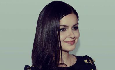 Brunette, celebrity, Ariel Winter, smile