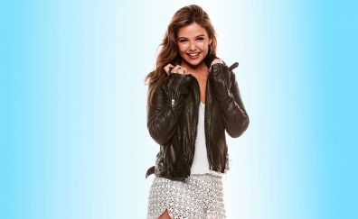 Danielle Campbell, jacket, actress, smile