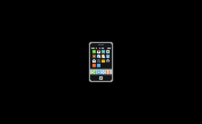 iPhone, pixel artwork