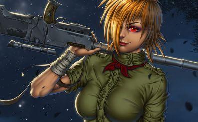 Seras victoria of hellsing anime