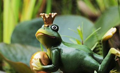 Frog prince, figure, toy