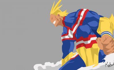 Anime boy, All Might, Boku no Hero Academia