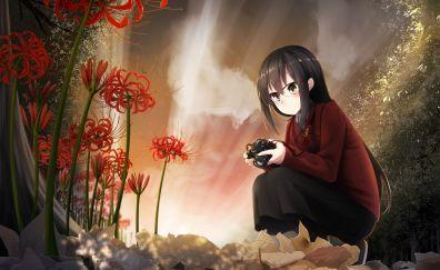 anime, anime girl, outdoor, original