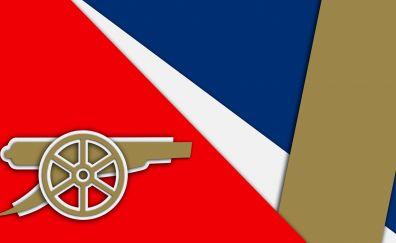 Arsenal F. C., logo, material design, tank