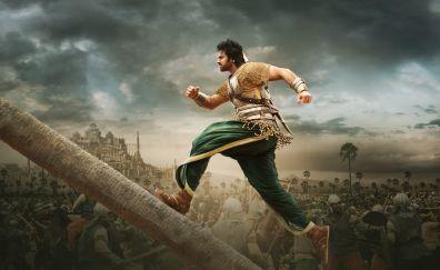 Baahubali 2: The Conclusion, Prabhas, movie, 4k, 8k