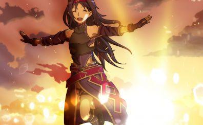 Konno Yuuki, Sword art Online, happy anime girl