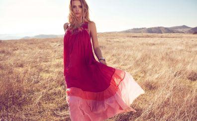 Lily Donaldson, British celebrity, landscape