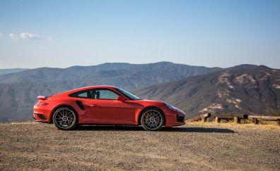 Porsche 911 Turbo S 2017 car