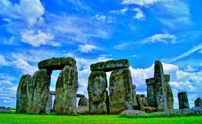 Stonehenge, stones, monument stone, nature
