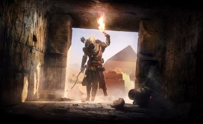 Secrets of the first pyramids, Assassin's Creed Origins, video game