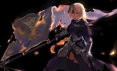Ruler, anime girl, fate/stay night, 5k