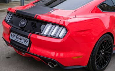 Mustang GT, sports, rear view