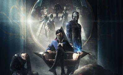 Emily Kaldwin, Corvo Attano, Dishonored 2, video game
