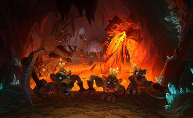 Hearthstone, Kobolds and Catacombs, game