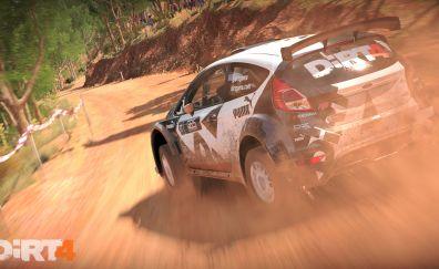 Dirt 4, racing game, car