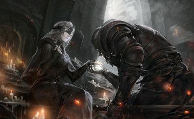 Video game, dark souls iii, soldiers