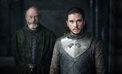 Jon snow, Kit Harington, Game of thrones, season 7, EP 3