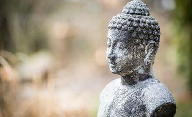 Statue of Buddha doing meditation