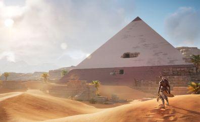 Assassin's Creed: Origins, desert, pyramids, video game