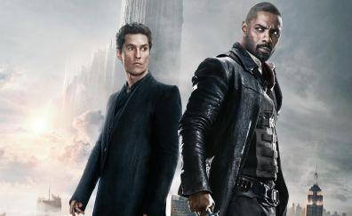 The Dark Tower, 2017 movie, Matthew McConaughey, Idris Elba, 4k, 8k