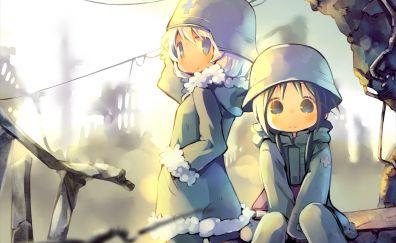 Chito and yuuri, Girls' last tour, anime girls
