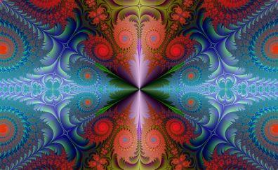 Fractal, background, design