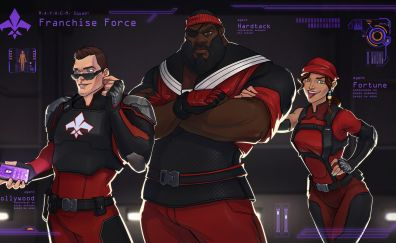 Franchise force, video game, Agents of mayhem