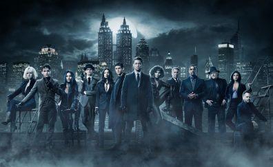 Gotham, TV show, season 4, cast, 4k, 2017
