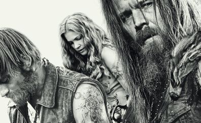 Outsiders, tv series, cast, monochrome