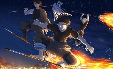Fire Brigade of Flames, anime boys