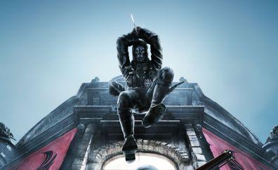 Corvo Attano, Dishonored 2, 5k, video game