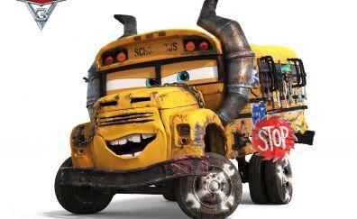 Cars 3, 2017 movie, yellow truck
