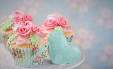Cupcake, dessert, baking