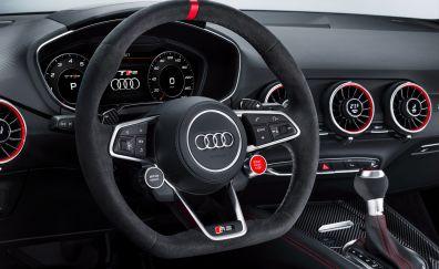 Audi TT RS, 2017 car, interior