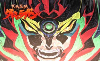 Tengen Toppa Gurren Lagann, anime, art, head