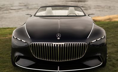 The Vision Mercedes-Maybach 6 Cabriolet, 2017, front