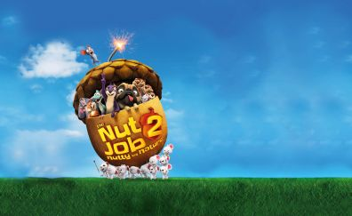 The Nut Job 2: Nutty by Nature, animation movie, movie